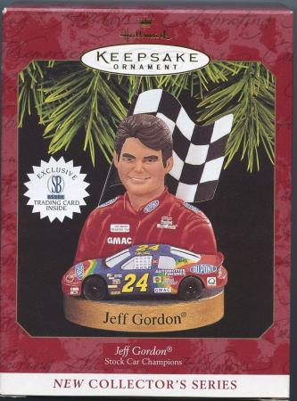 Jeff Gordon Stock Car Champions 1997 Ornament