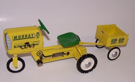 Murray Tractor with Trailer 1961
